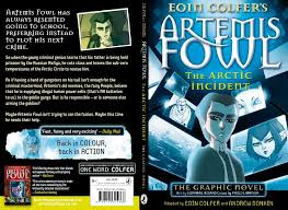 cover of artic incident graphic novel adapted by eoin colfer and andrew donkin