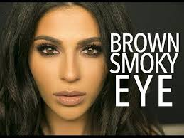 here s a brown smokey eye makeup look for ya i kept the colors neutral but