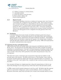 Restaurant Business Plan Sample A Small Restaurant Business Plan Template And Starting Free