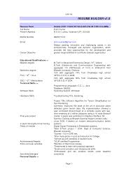 Resume Builder Examples 5 Jobsxs Com