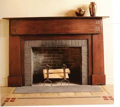 stunning creation on the craftsman style fireplace astonishing craftsman style fireplace wooden brown arts design