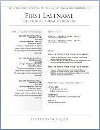 Resume Templates Word Free Gfyork