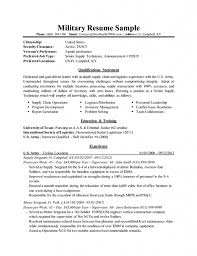 Military Resume Template Health Symptoms And Cure Com
