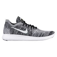nike shoes white and black high top. nike free rn flyknit 2017 - women\u0027s black / white shoes and high top