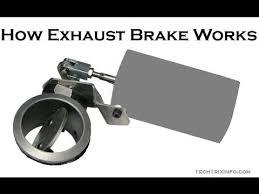 how exhaust brake works basics how exhaust brake works basics