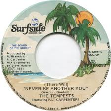 45cat - The Tempests (Featuring Pat Carpenter) - The First One On The Beach  / (There Will) Never Be Another You - Surfside - USA - SR810523