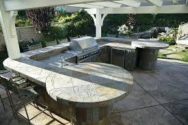 outdoor countertop ideas elegant granite tile outdoor outdoor kitchen tile diy outdoor bar countertop ideas
