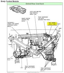 cadillac deville electrical problem cadillac deville it s located behind the rear seat back