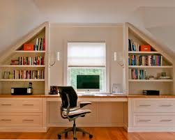 the ideal solution for this purpose is a separate room in homes with less space it may be a part of a room such as quiet and unobtrusive part of your attic office ideas