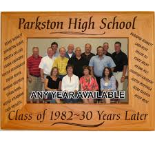 details about personalized wood picture frames class reunion gifts custom party favors names