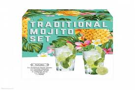 7 49 instead of 29 99 for a mojito l gift set including a pair of mojito tumblers from ckent ltd save 75