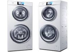 haier washing machine. new double-decker haier washing machine lets you do two loads of laundry at once | metro news