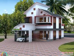 Home Architecture 1535 sqft modern home architecture kerala home design bloglovin 2262 by uwakikaiketsu.us