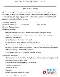 sample resume format for call center agent out experience sample resume format for call center agent out experience resume examples for resume call call center