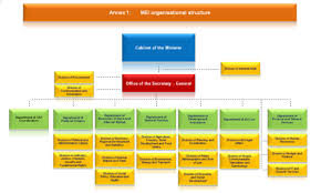 Organizational Chart Ministry Of European Integration