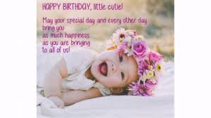 Happy Birthday Quotes For Baby Girl Wishesgreeting