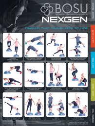 Exercise Wall Chart Free Download Wall Charts Bosu