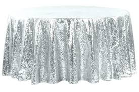 linen tablecloths round inch tablecloth the most glitz sequins silver linens within r black linen tablecloths