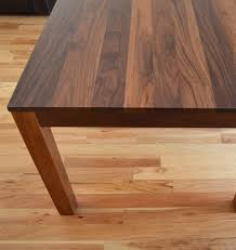 Home Made Kitchen Table Custom Made Solid Walnut Dining Table Home Dining Table Chairs