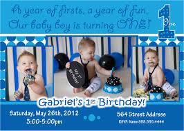 1st Birthday Invitation Ideas For A Boy Birthdaybuzz