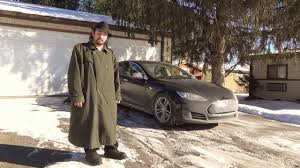 tesla motors model s sub zero 30 degrees interior is over 100 f warmer then exterior you