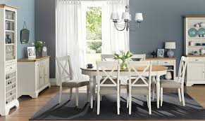 Oak Chairs For Kitchen Table Georgie Oval Extending Dining Table 6 Chairs Grey Natural