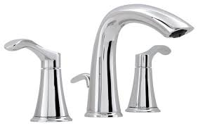 miseno bella o widespread bathroom faucet with pop up drain assembly chrome contemporary bathroom sink faucets by bath4all