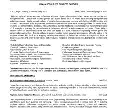 Entry Level Human Resources Resume Objective Human Resource Resume Entry Level Hr Sample Objectives Examples 66