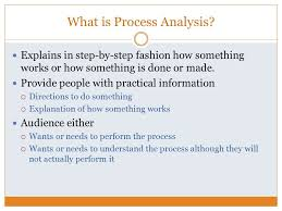process analysis essay ppt video online what is process analysis