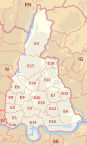 Image result for map of Hackney Marshes, E9