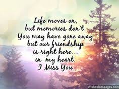 i miss you messages for friends missing you es