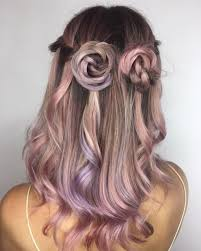 Dusty Pearl Hair Used Aesthetic At