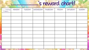Good Deed Chart 7 Reward Chart Templates Free Sample Example Format