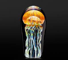 realistic glass jellyfish sculpture richard satava 21