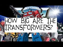 Transformers G1 Scale Chart Transformers Scale How Big Are The Transformers 1984 G1 Car Bots