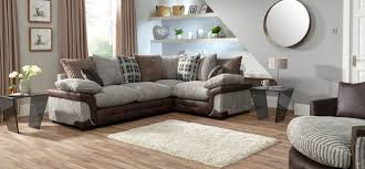 Living Room With Corner Sofa Corner Sofas And Suites In Leather And Fabric Scs