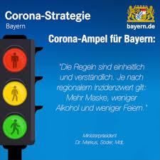 Die fallzahlen werden täglich aktualisiert. Bayern De Corona Ampel Fur Bayern Facebook
