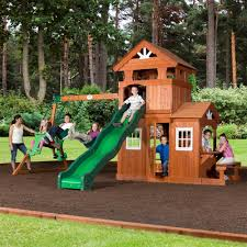 Backyard Discovery Shenandoah All Cedar Swingset - Free Shipping Today -  Overstock.com - 17809299
