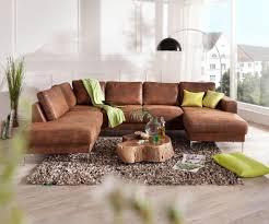 Couch Silas Braun Antik Optik 300x200 Cm Ottomane Real