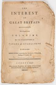 the imperial franklin re ing and revising north america s title page of benjamin franklin s the interest of great britain considered regard to her