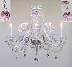 lighting for girls bedroom. Outstanding Girl Bedroom Decorating Ideas Using Chandelier : Glamorous For Lighting Girls O