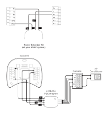 i'm upgrading from ecobee3 to ecobee4, what wiring changes do i Ecobee Wiring Diagram ecobee4ecobee3pekwiring jpg ecobee wiring diagram for a heat pump