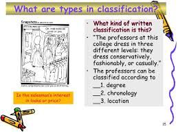 classification essay writing  15 what are types in classification