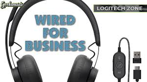 <b>Logitech Zone Wired</b> USB-C <b>Headset</b> Review - YouTube