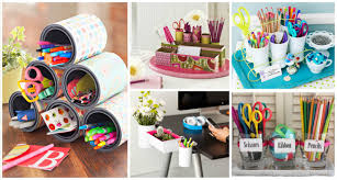 Diy Desk Organizer 15 Interesting And Useful Diy Desk Organizers
