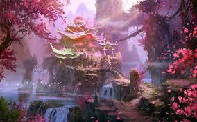 Fantasy landscape, Fantasy art ...