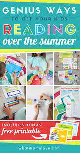 Summer Reading Incentive Chart How To Get Your Kids To Read This Summer With Free