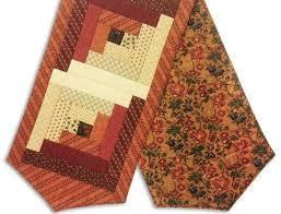 Table Runner Kits – Jordan Fabrics & Moda Fabrics Pre-Cut Log Cabin Table Runner Kit - Harvest Hill Adamdwight.com
