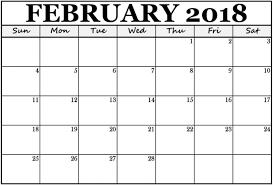 pdf printable calendar february 2018 printable calendar pdf free pictures on greepx