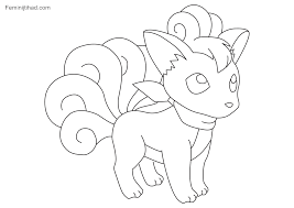 Pokemon Coloring Pages For Kids Printable Coloring Page For Kids